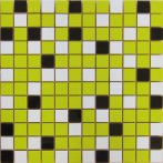 NORDIC MIX LIME MOSAICO 2,5X2,5